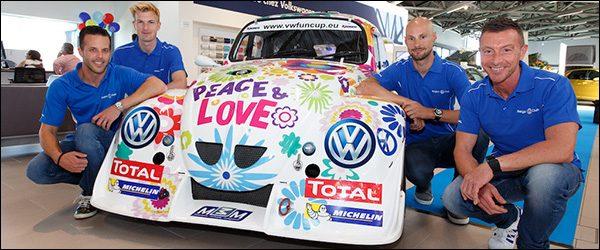 Tom Boonen racet mee in de Volkswagen Fun Cup 2017