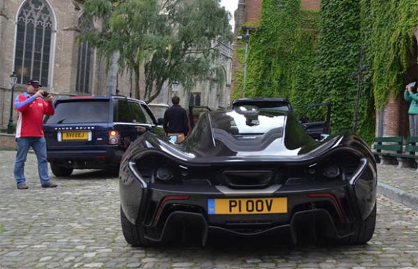 Top Gear test de McLaren P1 in Brugge