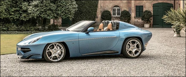 Alfa Romeo Disco Volante Spyder by Carrozzeria Touring Superleggera