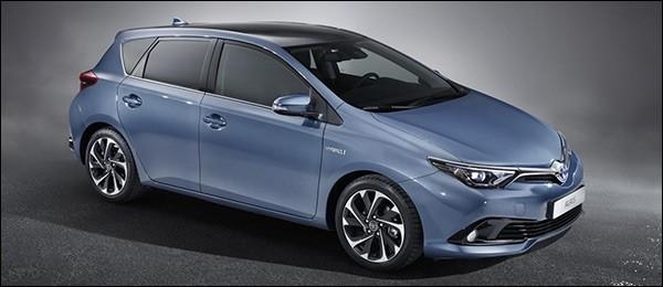 Officieel: Toyota Auris facelift