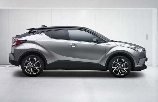 Gelekt Toyota C Hr Crossover Groenlicht Be