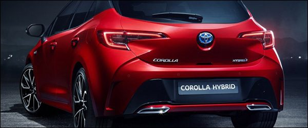 De Toyota Corolla maakt opnieuw zijn intrede