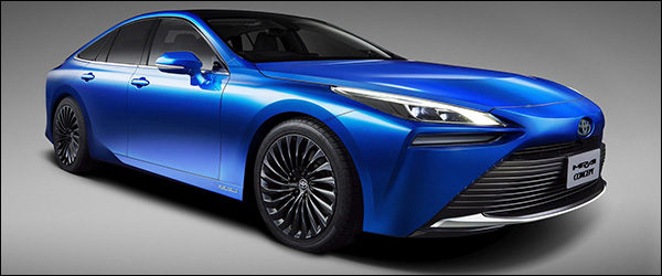 Officieel: Toyota Fuel Cell Mirai Concept (2019)