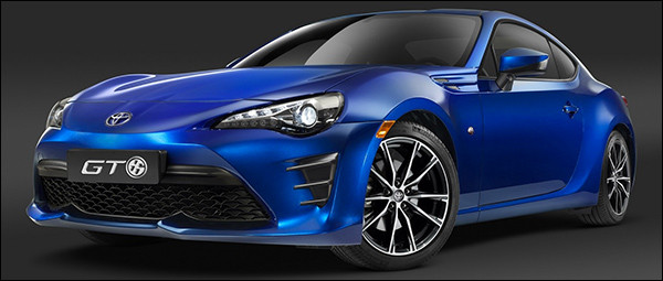 Officieel: Toyota GT86 facelift (2016)