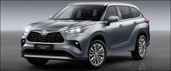 Officieel: Toyota Highlander SUV (2021)