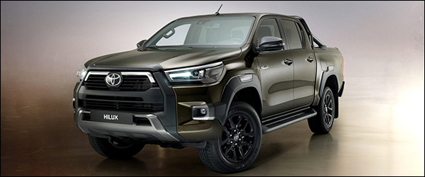 Officieel: Toyota Hilux facelift (2020)