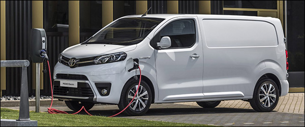 Officieel: Toyota ProAce Electric (2020)