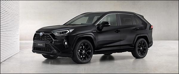 Officieel: Toyota RAV4 Hybrid Black Edition (2020)