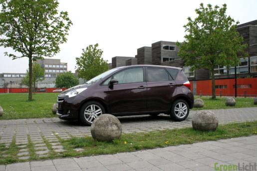 Toyota Verso S Rijtest