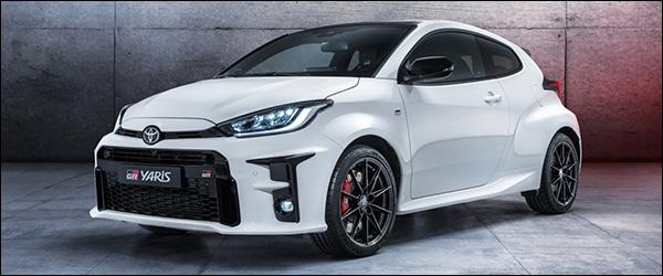 Officieel: Toyota Yaris GR (2020)
