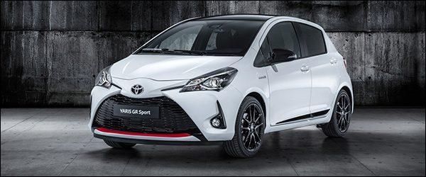 Officieel: Toyota Yaris GR Sport (2018)