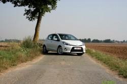 Toyota Yaris HSD test
