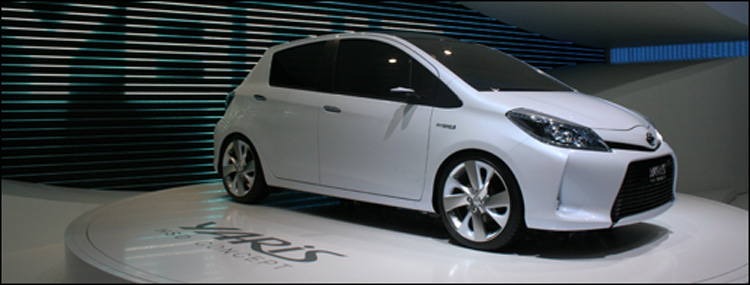 gen ve 2011 toyota yaris hsd concept. Black Bedroom Furniture Sets. Home Design Ideas