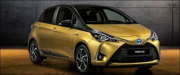 Officieel: Toyota Yaris Y20 special edition (2018)
