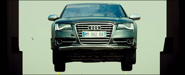 Trailer: The Transporter 4 - Refueled [Audi S8]