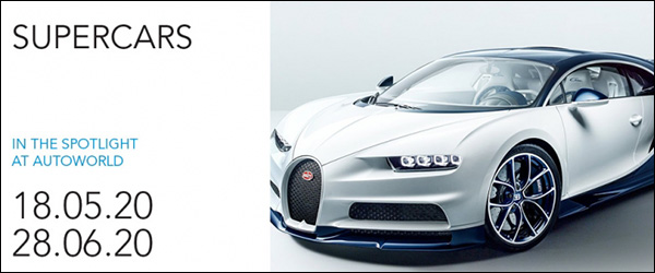 Uittip: Supercars @ Autoworld Brussels (18/05 - 28/06)