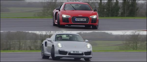 Poll: Audi R8 V10 Plus vs Porsche 911 Turbo S
