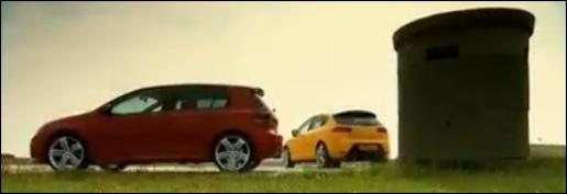 VW Golf R vs Seat Leon Cupra R
