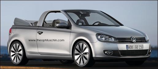 Volkswagen Golf 6 Cabrio