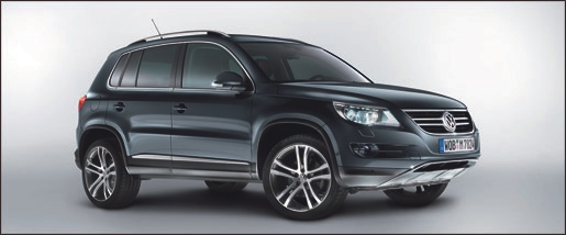 VW Tiguan Track and Avenue