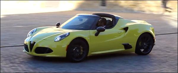 Video: Alfa Romeo 4C Spider is bijna klaar