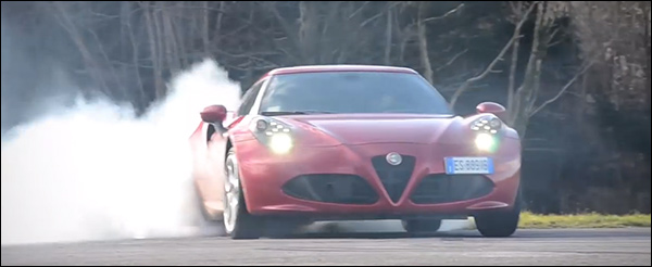 Video: Alfa Romeo 4C knalt op de Goodwood Hill Climb