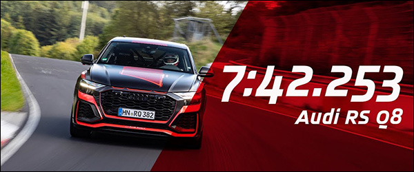 Video: Audi RS Q8 pakt alvast Nurburgring record (2019)