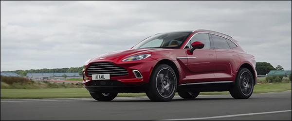 Video: Autocar test de Aston Martin DBX (2020)