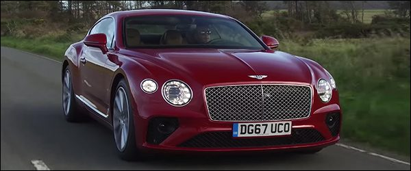 Video: Auto Express test de Bentley Continental GT (2017)