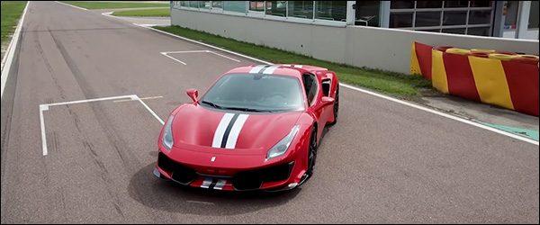 Video Autocar test de Ferrari 488 Pista 2018