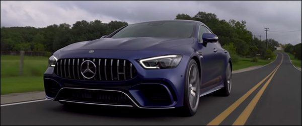 Video: Autocar test de Mercedes-AMG GT 4-deurs coupé (2018)