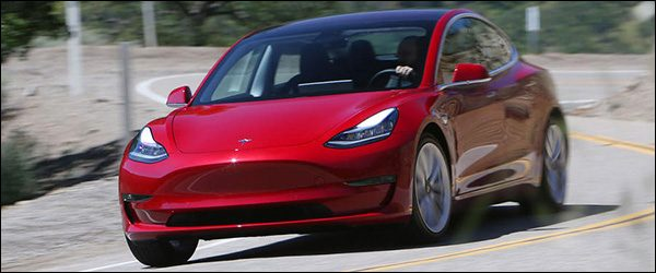 Video: Autocar test de Tesla Model 3 Berline (2018)