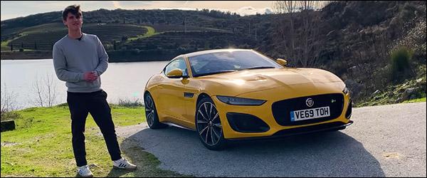 Video: Autocar test de vernieuwde Jaguar F-Type (2020)