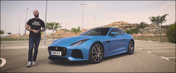 Video: Autoweek & Co testen de Jaguar F-Type SVR
