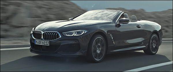 Video: BMW 8-Reeks Cabrio in beweging (2018)