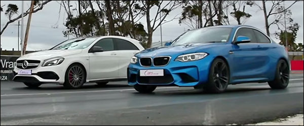 Dragrace: BMW M2 Coupé vs Mercedes-AMG A45