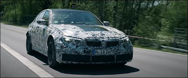 Video: de nieuwe BMW M3 Berline is bijna klaar (2020)