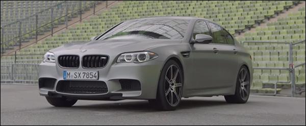 "Video: BMW M5 ""30 Jahre M5"" drift er op los"