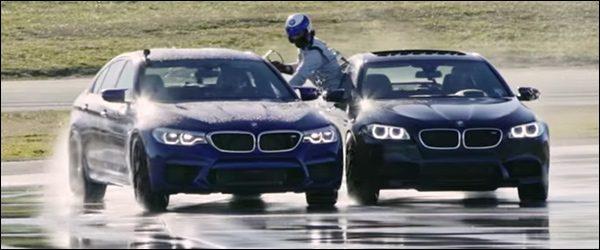 Video: BMW M5 Berline breekt wereldrecord driften, inclusief tankbeurt tussenin
