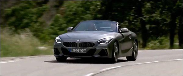Video: BMW Z4 Roadster in actie (2018)