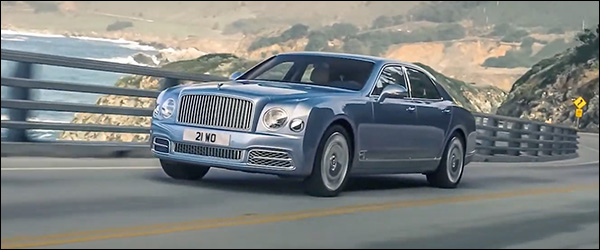 Video: Bentley eert de Mulsanne (2020)