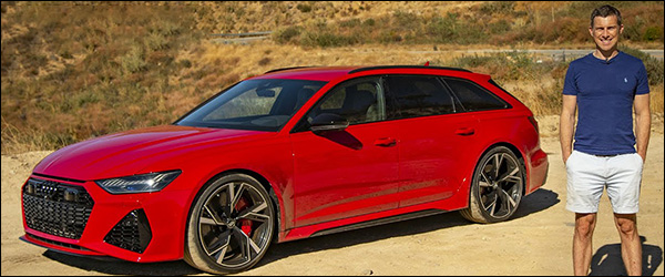 Video: CarWOW test de Audi RS6 Avant (2019)