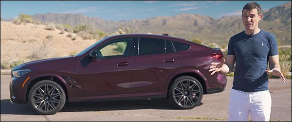 Video: CarWOW test de nieuwe BMW X6 M (2020)
