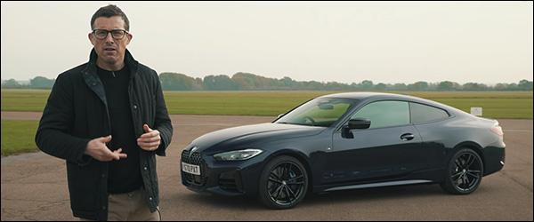 Video: CarWOW test de nieuwe BMW 4 Reeks Coupe G22 (2020)