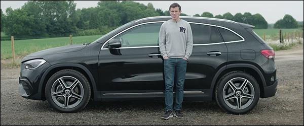 Video: CarWOW test de nieuwe Mercedes GLA (2020)