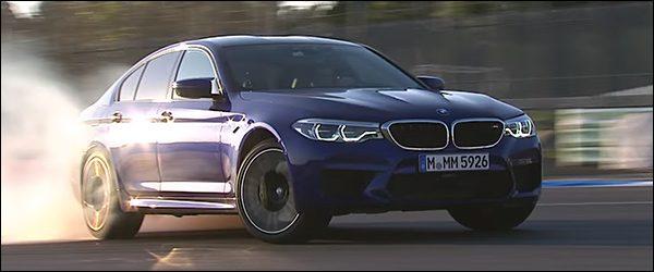 Video: Carfection test de BMW M5 Berline (2017)