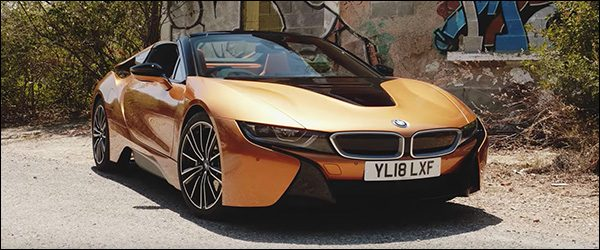 Video: Carfection test de BMW i8 Roadster (2018)