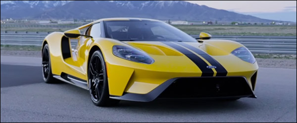 Video: Carfection test de nieuwe Ford GT (2017)