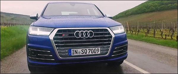 Video: Carperfection test de Audi SQ7