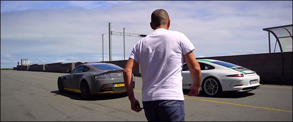 Video: Chris Harris test de Porsche 991 R + Aston Martin V12 Vantage S